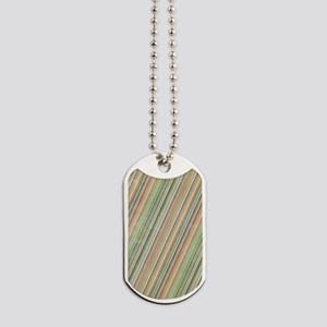 Vintage Stripes Dog Tags