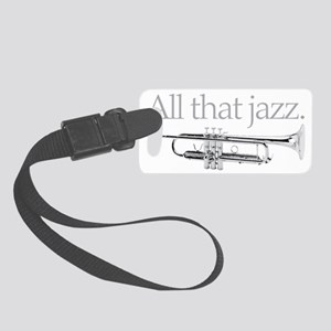 All That Jazz Small Luggage Tag