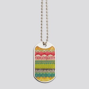 ARTful Stripes Dog Tags
