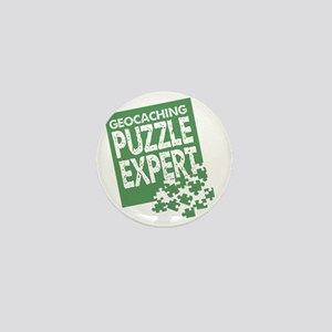 Geocaching Puzzle Expert Mini Button