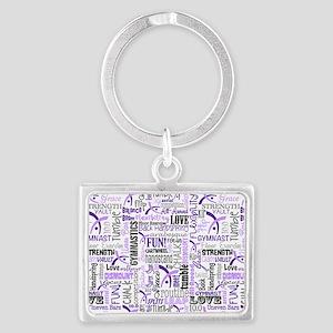 Gymnastics Messenger Bag Landscape Keychain
