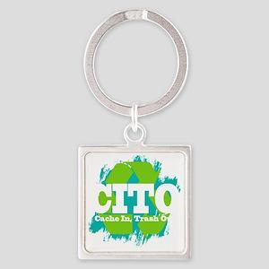 CITO (Dark) Square Keychain