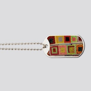Crazy Quilt Dog Tags