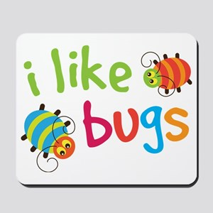 I Like Bugs Kids Mousepad