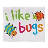 Bug Fleece Blankets