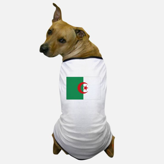 Algerian flag Dog T-Shirt