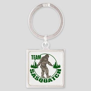 Team Sasquatch Square Keychain