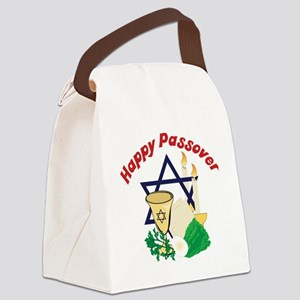 Happy Passover Canvas Lunch Bag