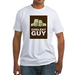 Cholent Guy 2 Fitted T-Shirt