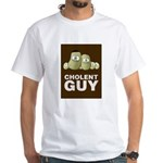 Cholent Guy 2 White T-Shirt