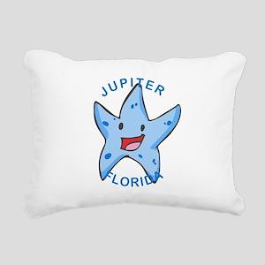 Florida - Jupiter Rectangular Canvas Pillow