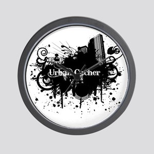 Urban Cacher Wall Clock