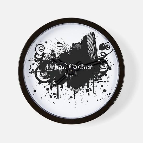Urban Cacher Wall Clock