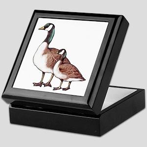 Canada Geese Keepsake Box