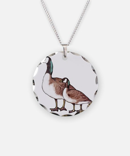 Canada Geese Necklace