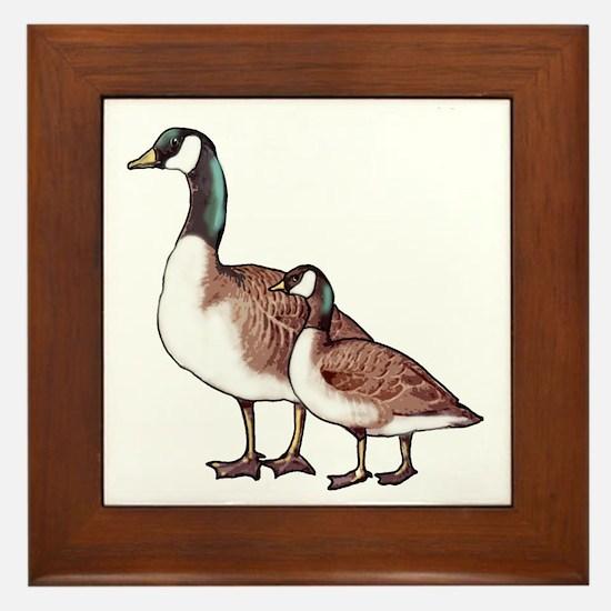 Canada Geese Framed Tile