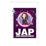 JAP - Jewish American Princes Postcards (Package o