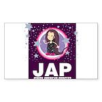 JAP - Jewish American Princes Sticker (Rectangular