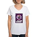 JAP - Jewish American Princes Women's V-Neck T-Shi