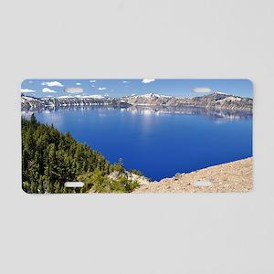 Crater Lake Aluminum License Plate