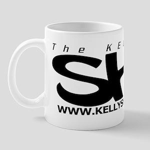 Kelly SHU dot com logo Mug