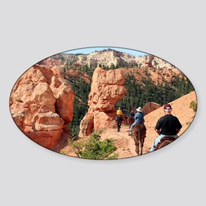 Bryce Canyon, Utah, USA 2 Sticker (Oval)