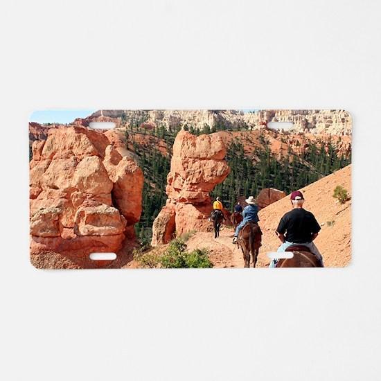 Bryce Canyon, Utah, USA 2 Aluminum License Plate
