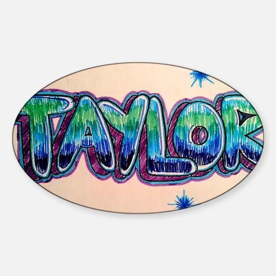 Taylor Sticker (Oval)