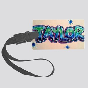 Taylor Large Luggage Tag