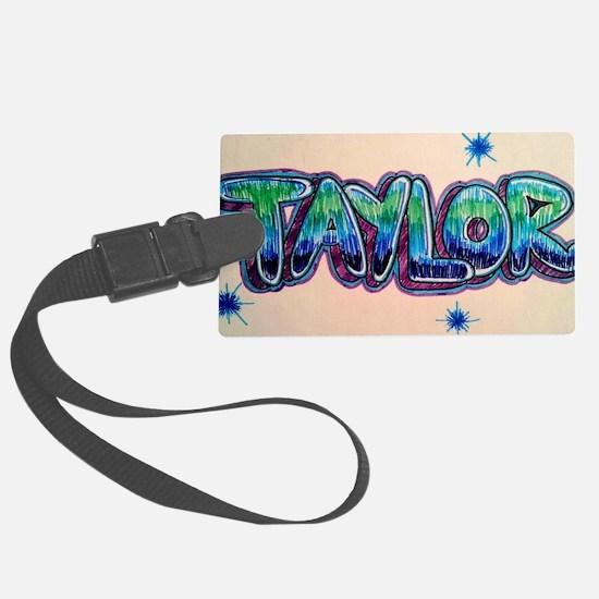 Taylor Luggage Tag