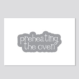 Preheating the Oven Postcards (Package of 8)