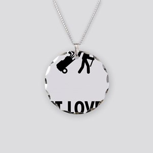 Golf-Caddy-ABO1 Necklace Circle Charm