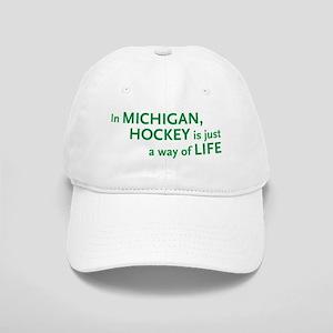 Michigan Hockey State Cap