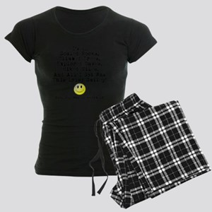 Lousy Smiley Women's Dark Pajamas