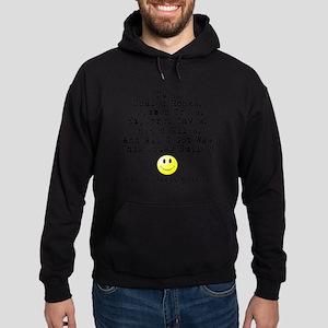 Lousy Smiley Hoodie (dark)