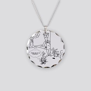 3058 Necklace Circle Charm