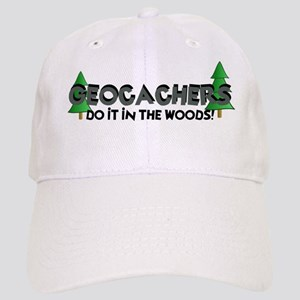 Geocachers Do It In The Woods Cap