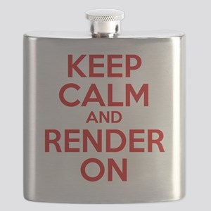 Keep Calm And Render On Flask