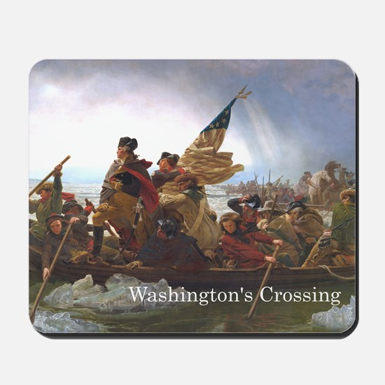 washcrossing1a Mousepad