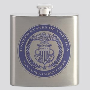 NAVAL SEA CADET CORPS SEAL Flask