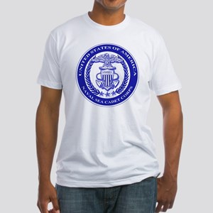 NAVAL SEA CADET CORPS SEAL Fitted T-Shirt