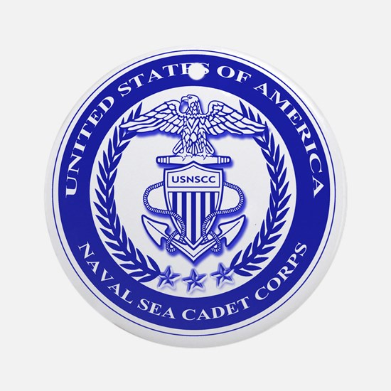NAVAL SEA CADET CORPS SEAL Round Ornament