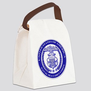 NAVAL SEA CADET CORPS SEAL Canvas Lunch Bag