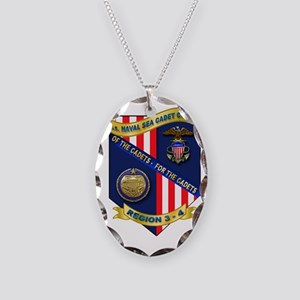 REGION 03-4 NAVAL SEA CADET CO Necklace Oval Charm