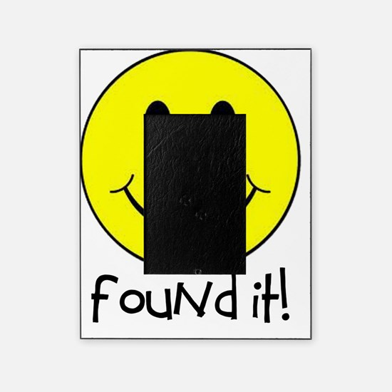 Found It Smiley! Picture Frame