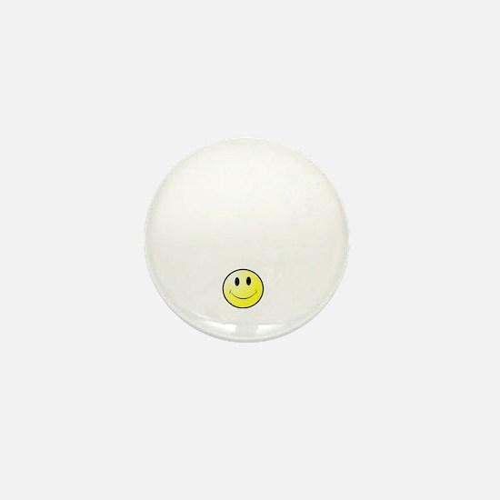 Lousy Smiley Mini Button