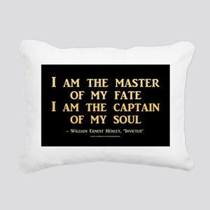 Master Of My Fate Rectangular Canvas Pillow