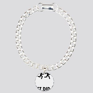 Relay-Runner-ABP1 Charm Bracelet, One Charm
