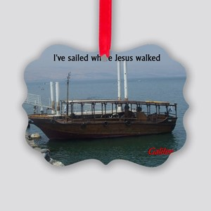 I've Sailed Where Jesus Walked Picture Ornament
