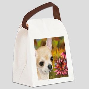 dog 85 Canvas Lunch Bag